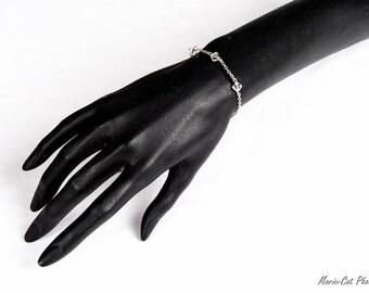 """Jewelry-Wedding Bracelet """"ANOUK"""""""