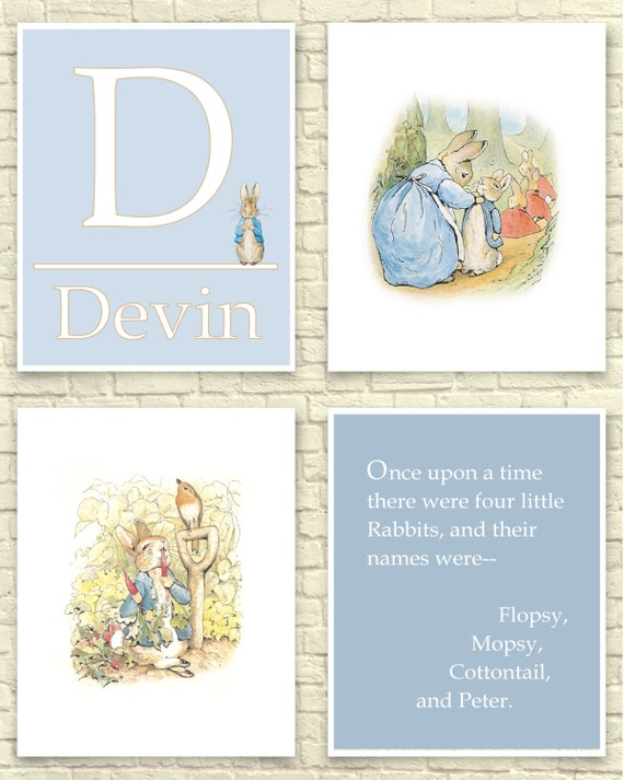 Image Result For Peter Rabbit Nursery Decor