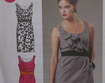 McCall's M6518. Size A5 -- 6-8-10-12-14. Misses' Lined Dress pattern, which is uncut, new, and factory folded.