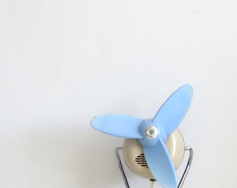 SALE Retro Table Fan, Desk Fan, Lesa Italian Design