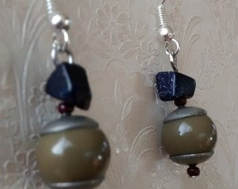 Pair of earrings semi vintage