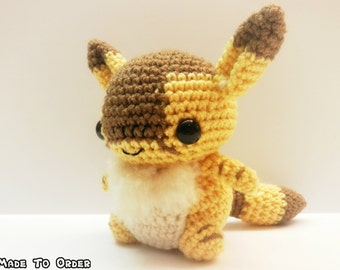 Crochet Teto Inspired Chibi From Nausicaa of the Valley of the Wind