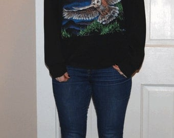 Vintage 80's OWL SWEATSHIRT