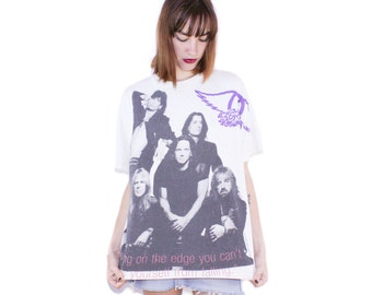 90s Aerosmith Get A Grip Tour T Shirt 1994 All Over Print