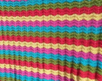 Blanket colors Zigzag