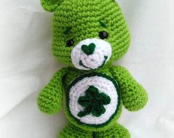 Care Bear; Good Luck Bear; CROCHET PATTERN; PDF