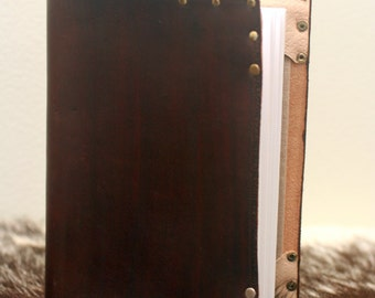 Dark Brown Leather Refillable Journal