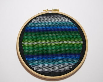 Hoop Art - Hand Embroidery - Embroidery Pattern - Home Decor - Wall Hanging - Sampler - Wall Art - Housewarming Gift - Gift For Her