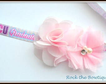 NICU Graduate Headband, NICU Grad, Preemie Headband, Pink Headband, Baby Headband for Preemie, Newborn, Baby, Toddler, Kid, Teen, Adults