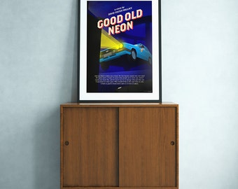 Good Old Neon (David Foster Wallace) poster
