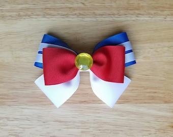 Sailor Moon Inspired Hair Bow, Cosplay