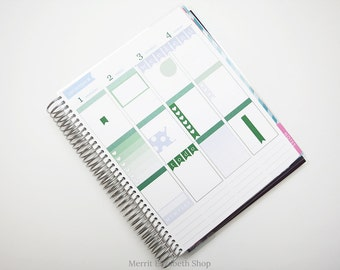Planner Sampler Kit : December Vertical Planner Stickers 038047