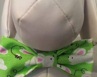 EASTER Spring Bow Tie Collar Attachment & Accessory for Dogs and Cats /Easter Bunny