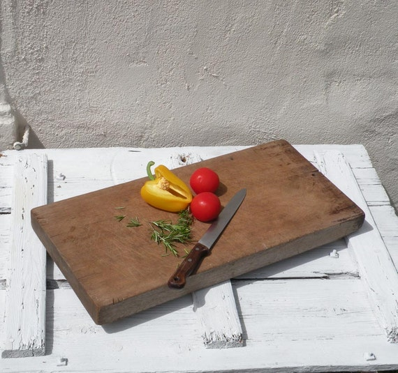 EXTRA LARGE vintage chopping board, French chopping board, rustic chopping board, wooden chopping board, country home, cottage chic,