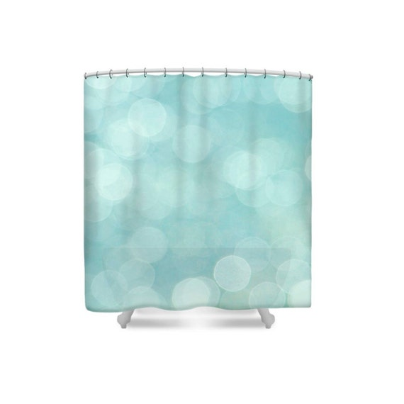 Bathroom Decor Modern Decor Aqua Shower CurtainTurquoise
