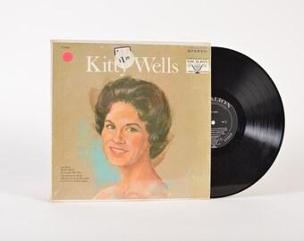 "KITTY WELLS - ""Kitty Wells"" vinyl record"