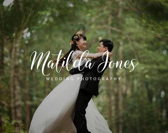 Wedding Photographer Logo, Calligraphy Logo and Watermarks, Photography Logo, Wedding Photographer Branding, Wedding Planner Branding