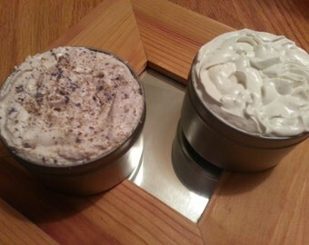 100% Natural Whipped Shea Butter & Sugar Scrub