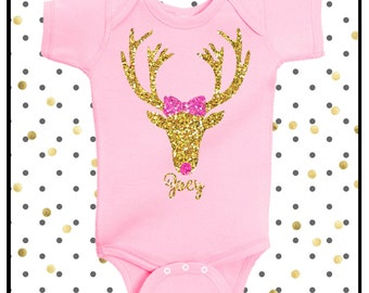 Baby Girl Clothes I Watch Espn With My Daddy Shirt Sparkle