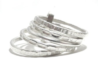 6 interlocked rings Etsy