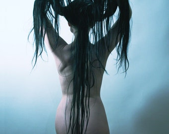 Medusa Incarnate // Art Nude // 8x10 signed print // Self Portrait Photography
