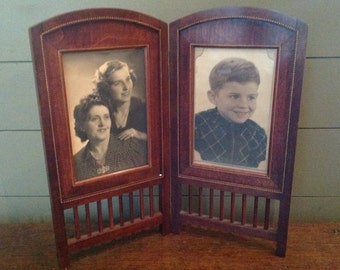 Photo frame to put down