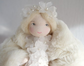 Snow Queen for the Nature Table, Waldorf inspired