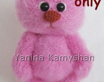 Baby Bear, amigurumi crochet pattern