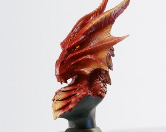 Halor Dragon Bust (Painted)