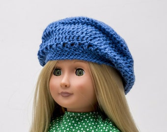 """American Girl or other 18"""" Doll Hat"""