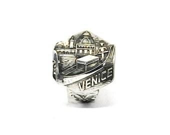 Venice  gondelier ring , Venetian ring,  Italy ring,  spoon ring