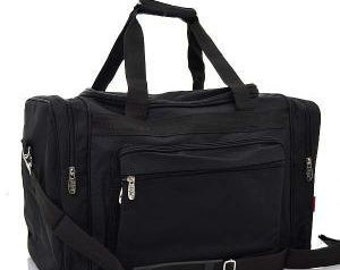 Personalized Mens Black Duffle bag, Duffle, Monogram Duffle Bag,Mens Duffle, Large Duffle Bag, Gift Idea, Luggage Bag, Duffle, Sports
