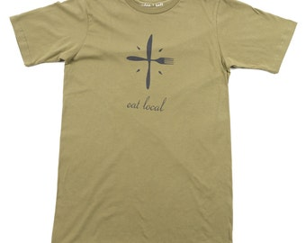 Eat Local Organic Cotton Tee SALE