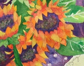Sunflower Painting, Origi...