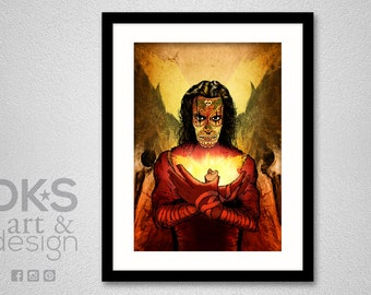 The Crow : Day of the Dead - Art Print