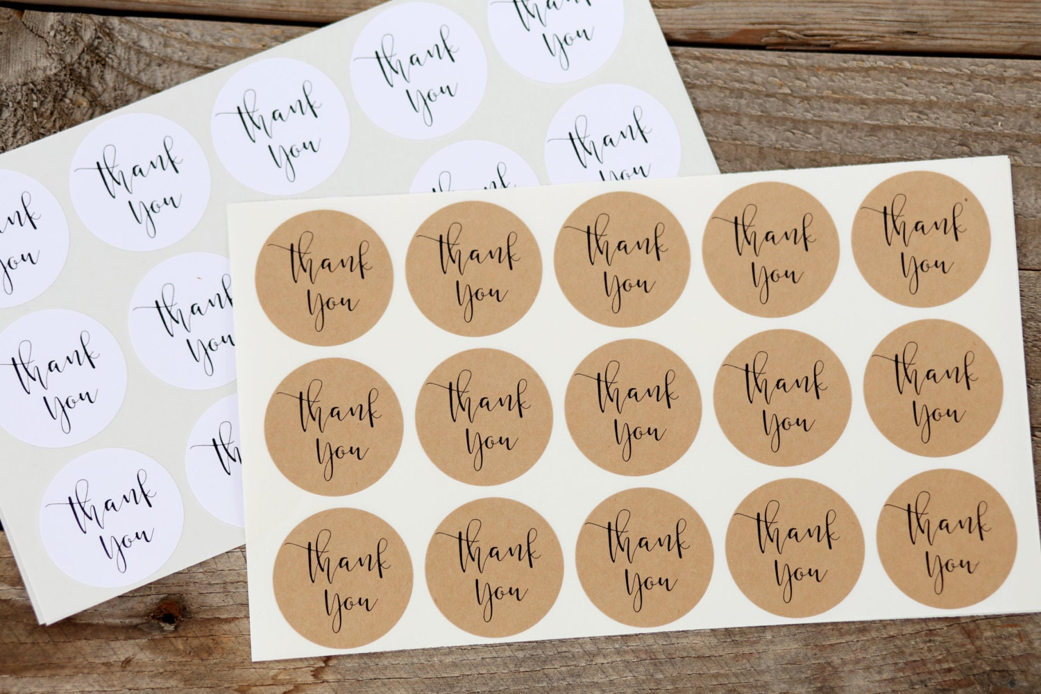 Thank you stickers for wedding favors jar labels envelope for Stickers for wedding favors