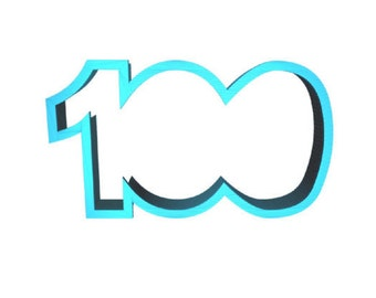 100 Cookie Cutter Number Cookie Cutter 100 days 100 Days of School