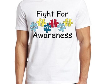 Autism Awareness Shirt, Fight for Autism, Autistic Children's shirt, Fight for Autism Awareness.