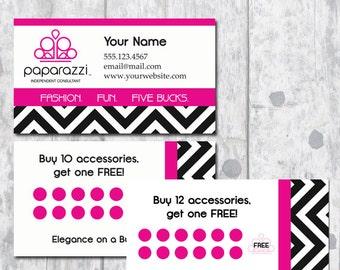 Paparazzi Jewelry Business Card - Digital Download