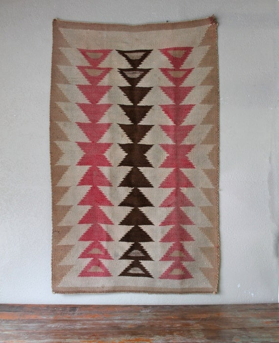 Old Navajo Rug Crystal Period 1920's