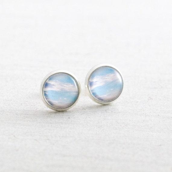 Blue Sky Stud Earrings