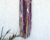 Gypsy Dreamcatcher, Boho Decor, Bohemian Dream catcher, Boho Chic, hippie dreamcatcher, gypsy wall decor
