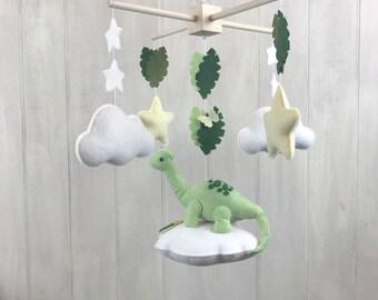 Baby mobile - dinosaur mobile - cloud babies collection - cloud mobile - star mobile - dinosaur nursery