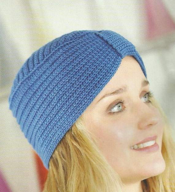 Crochet Pattern Turban Hat : Classic Turban Hat Crochet Pattern PDF