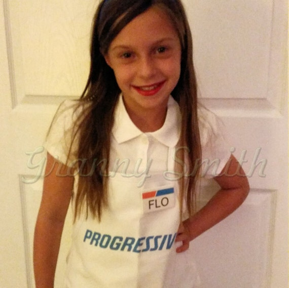 Children S Flo Progressive Insurance Apron Name Badge