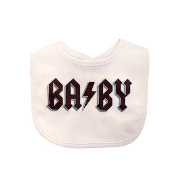 Rock BABY Bib Rocker Baby Funny Baby Clothes Unique by