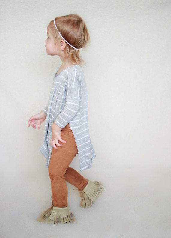 Baby Leggings Suede Leggings Minimalist Baby