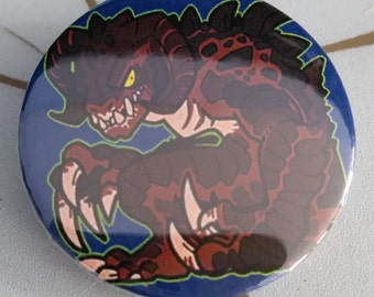 Deathclaw Pinback Button