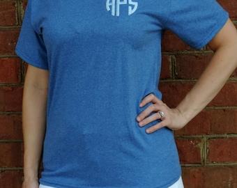 SALE! Monogrammed Short Sleeve Hanes EcoSmart T-Shirt 5170