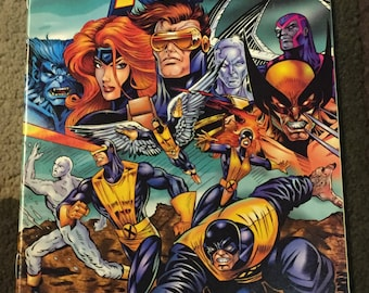 The Official Marvel Index To The X-Men #1 - 1994 - Marvel Comics